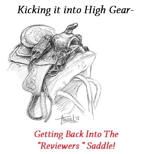 kicking it saddle
