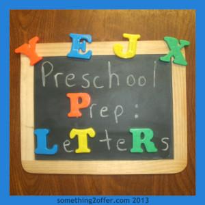 Preschool Prep Learning Letters