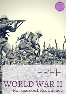 Free WW2 Homeschool Resources