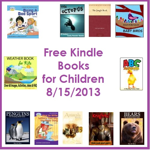 free kindle books for children