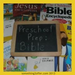 Preschool prep Bible