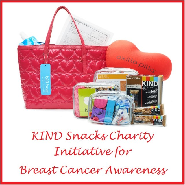 KIND Snacks Charity Initiative for Breast Cancer Awareness Month