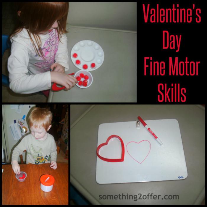 Valentine's Day Fine Motor