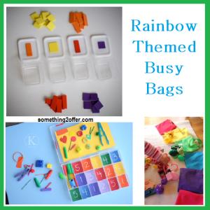 rainbow busy bags