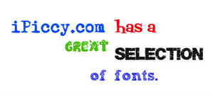 great_fonts from Ipiccy