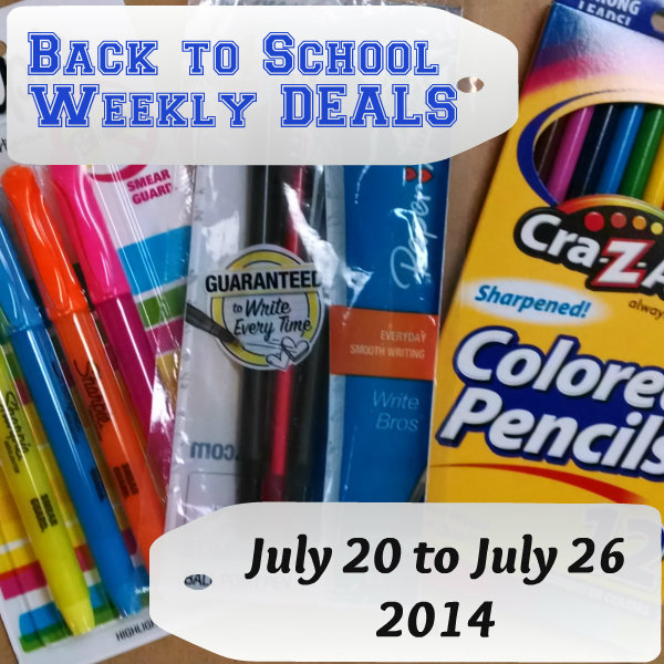 back to school promotions weekly deals july 20
