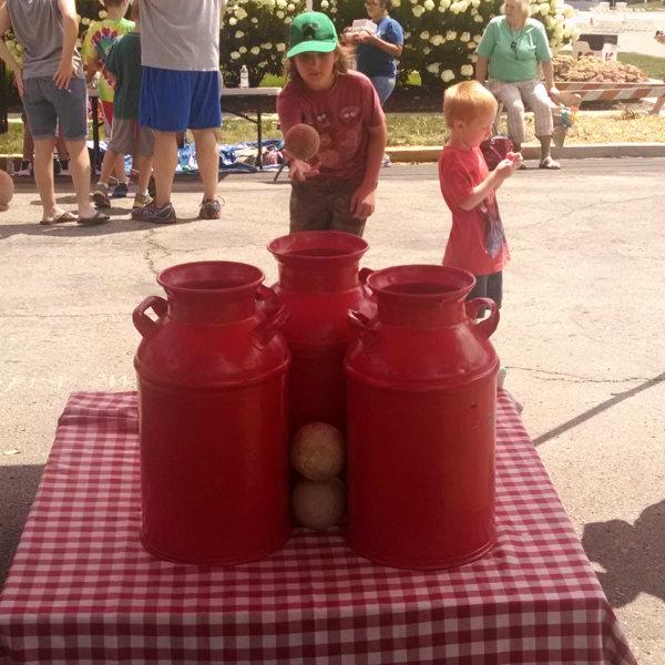 milk jug toss