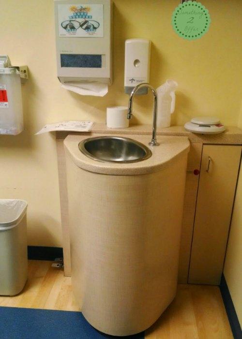 PICU toilet