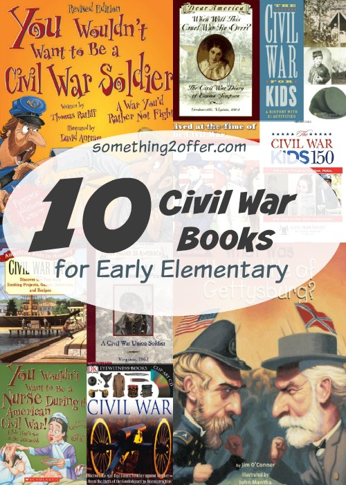10 Civil War Books for Early Elementary