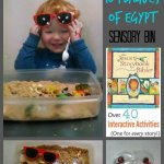 Moses & 10 plagues of Egypt Sensory Bin