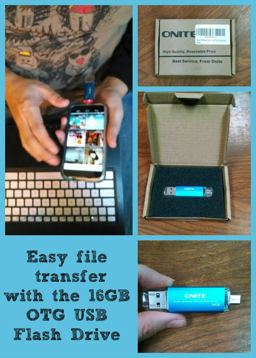 Onite Dual USB flash drive Collage