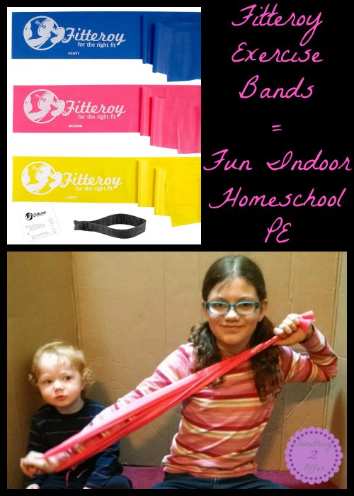 Fitteroy Exercise Bands Great option for Indoor PE #fitteroy