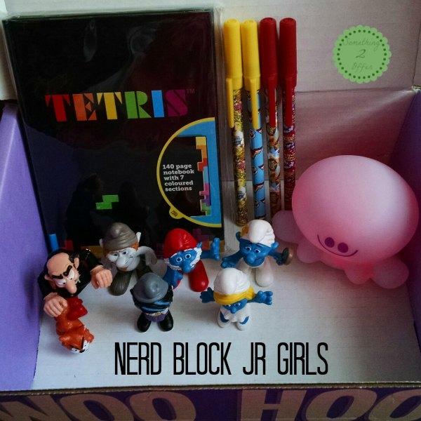 Nerd Block Jr Girls box