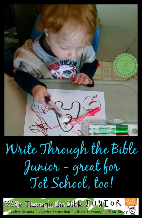 write through the bible tot school