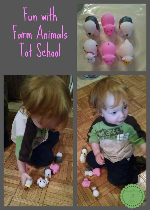 Fun with Farm Animals Tot School