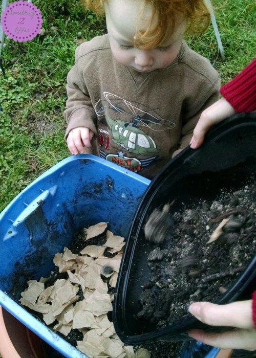 worm bin helpers