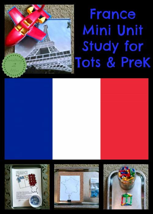 France Mini Unit Study