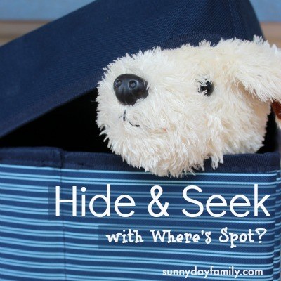 Hide and Seek with Spot 400