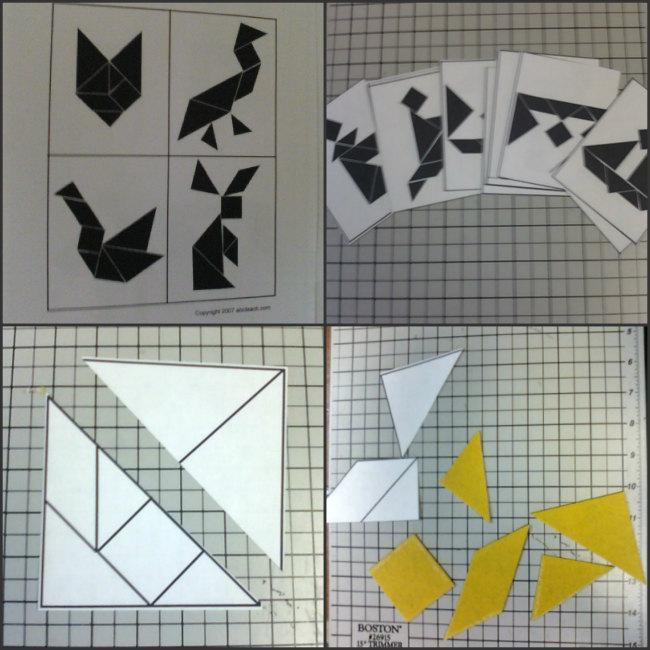 tangram making