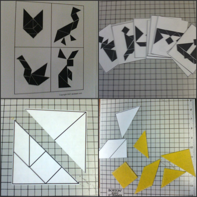 tangram making