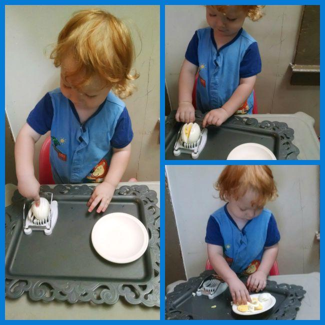 Toddler Egg Slicer
