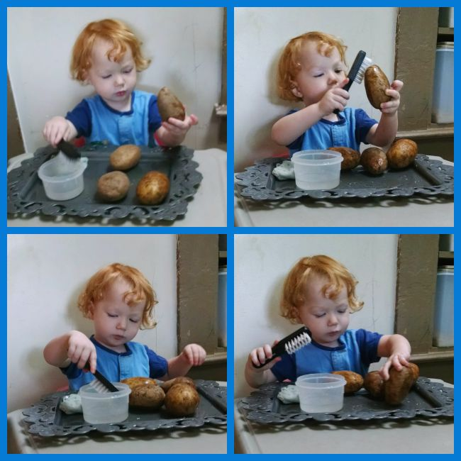 Toddler Potato Peeler