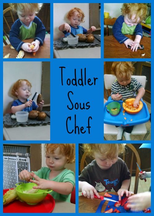 Toddler Sous Chef