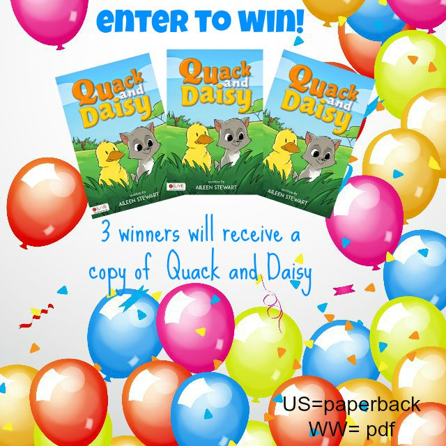 Quack and Daisy giveaway