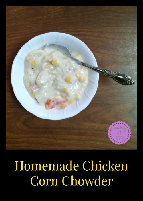 Homemade Chicken Corn Chowder