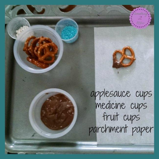 Chocolate Pretzel supplies