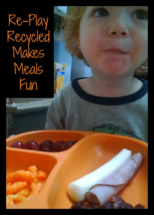 Re-Play Recycled Makes meals fun