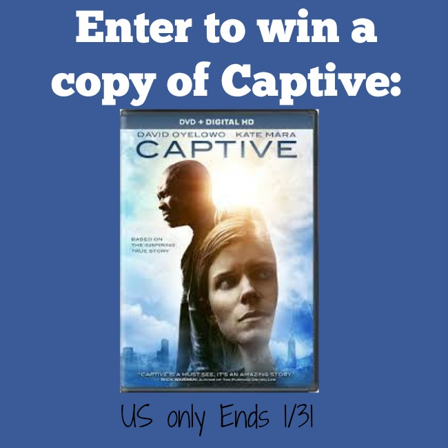 Captive dvd giveaway