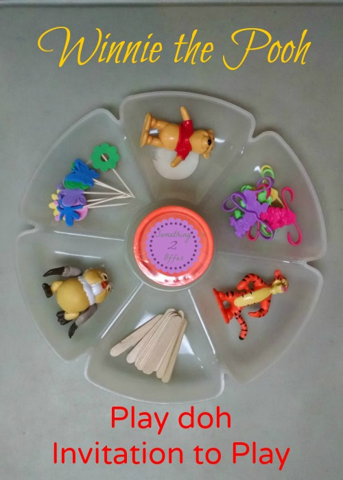 Winnie the Pooh Play doh Invitation to Play