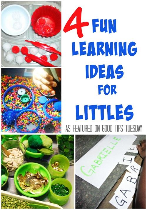 4 Fun Learning Ideas For Littles GTT