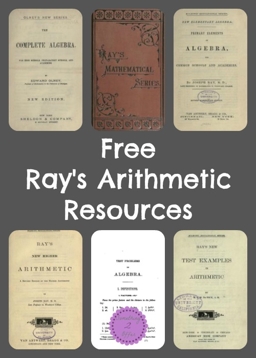 Free Ray's Arithmetic Resources