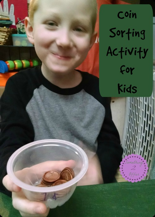 Coin Sorting Activity for Kids