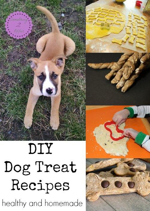 DIY Dog Treat Recipes