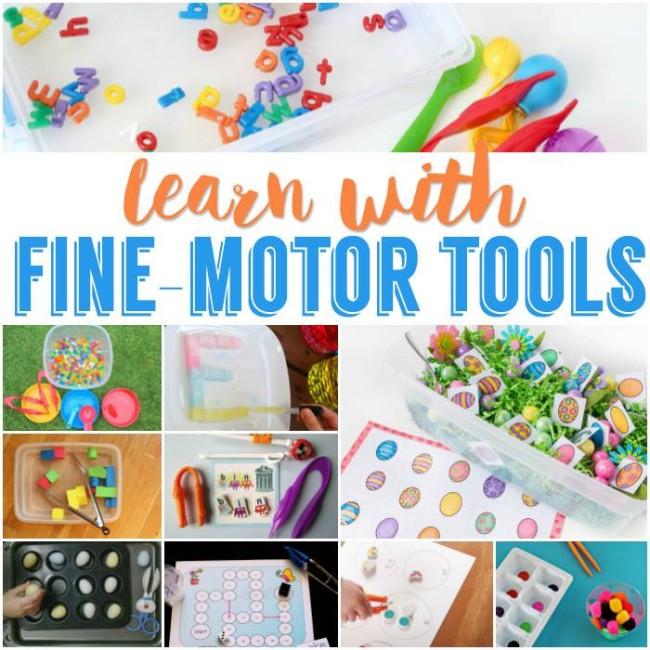 fine motor tools