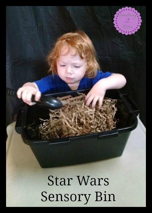 Star Wars Sensory Bin