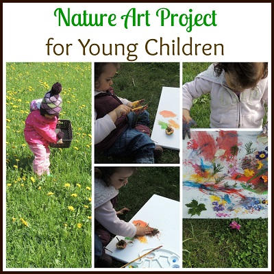 Nature art project