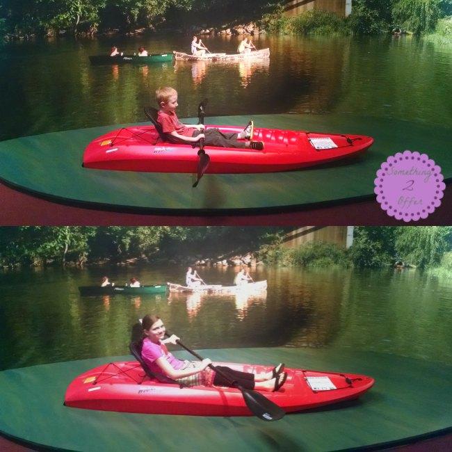 Sloan Museum kayak