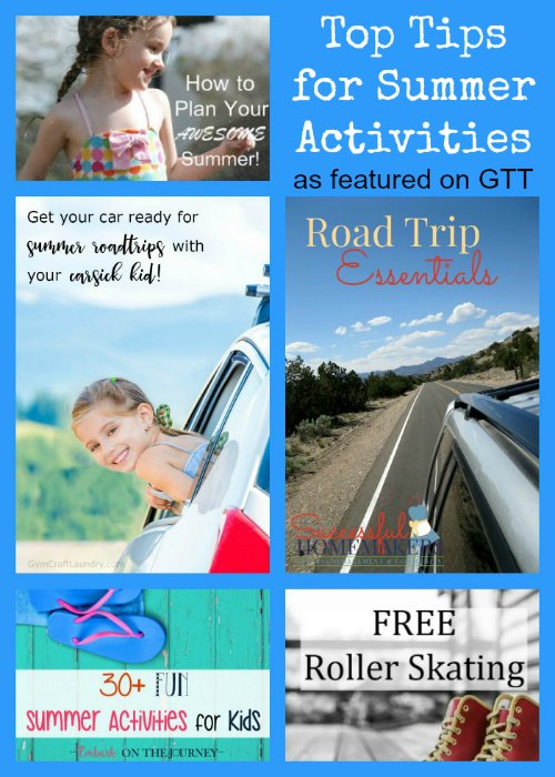 Top Tips for Summer Activities