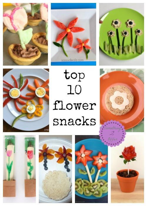 top 10 flower snacks