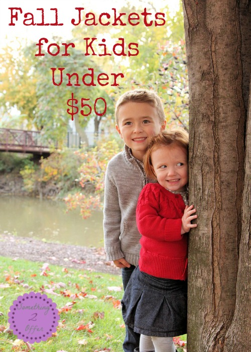 Fall Jackets  for Kids  Under  $50