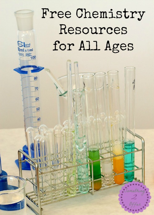 Free Chemistry Resources for All Ages