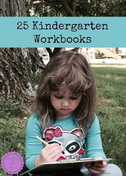 Kindergarten Workbooks