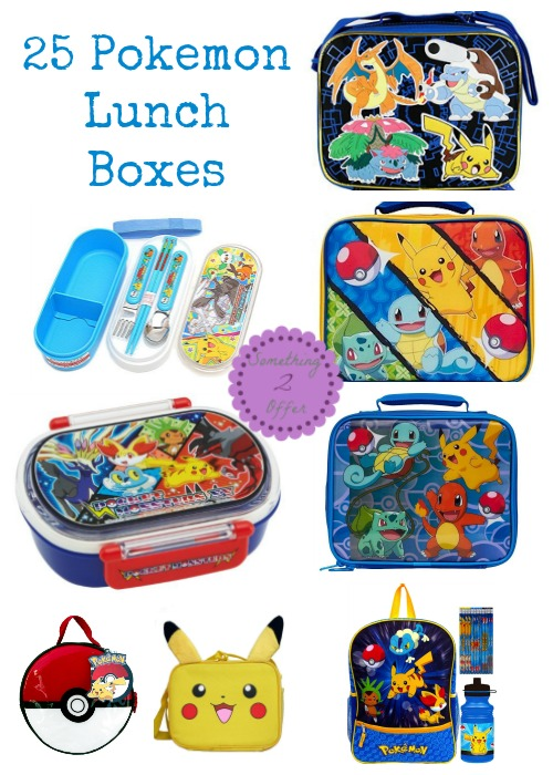 Pokemon Lunch Boxes