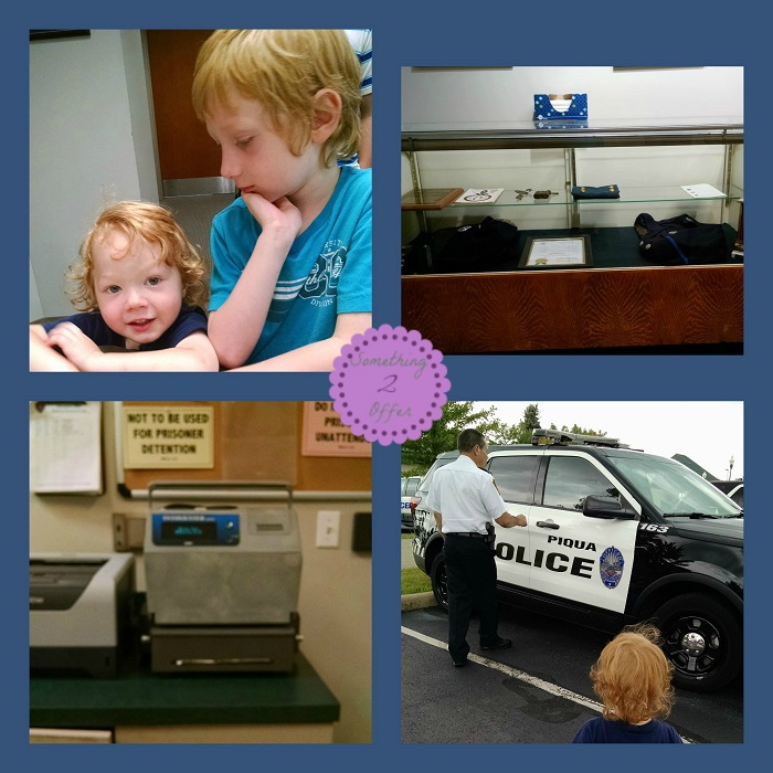 Visit to the Police Department