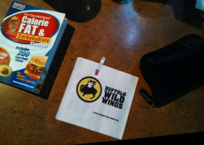 Type 1 Diabetes bag Calorie King Book
