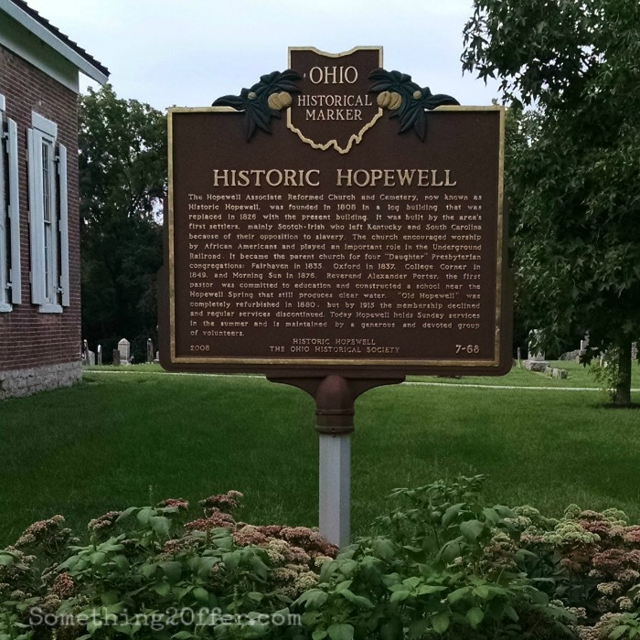 Historic Hopewell Historical marker